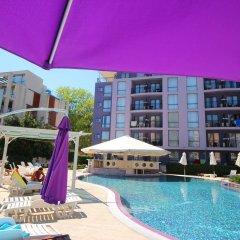 Отель Menada Rainbow Apartments Болгария, Солнечный берег - отзывы, цены и фото номеров - забронировать отель Menada Rainbow Apartments онлайн бассейн фото 3