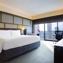 Отель Pan Pacific Singapore 5* Номер Panoramic с двуспальной кроватью фото 3
