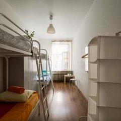 Хостел Online Кровать в общем номере с двухъярусной кроватью фото 25