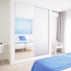 Отель Estudiotel Alicante 2* Улучшенный номер с различными типами кроватей фото 6