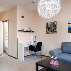Отель Hotell Fridhemsgatan 3* Стандартный семейный номер с различными типами кроватей фото 3