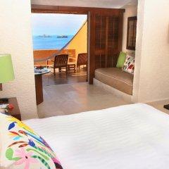 Отель Las Brisas Ixtapa 4* Номер Делюкс с различными типами кроватей фото 7