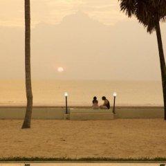Отель Nantra Coco Beach пляж