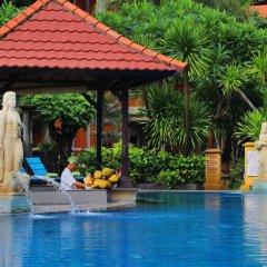Отель Adi Dharma Hotel Индонезия, Бали - 2 отзыва об отеле, цены и фото номеров - забронировать отель Adi Dharma Hotel онлайн бассейн