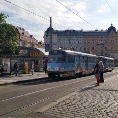 Отель Lovely Prague Havanska городской автобус