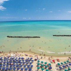 Отель L'Ala sul Mare Италия, Монтезильвано - отзывы, цены и фото номеров - забронировать отель L'Ala sul Mare онлайн пляж фото 2
