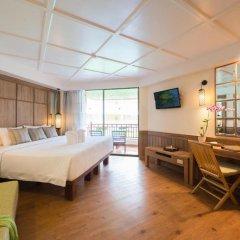 Отель Katathani Phuket Beach Resort 5* Номер Делюкс с двуспальной кроватью фото 10