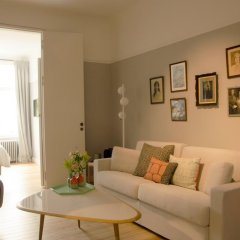Отель Chambre dhôtes Zita Brussels 4* Номер Делюкс с различными типами кроватей фото 4