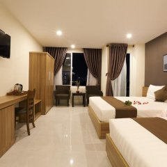 Thu Hien Hotel 2* Номер Делюкс фото 9