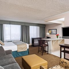 Campus Tower Suite Hotel комната для гостей фото 2