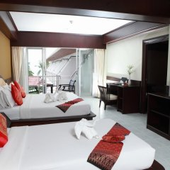 Samui First House Hotel 3* Стандартный семейный номер с различными типами кроватей