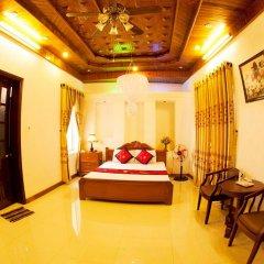 Отель Hoa Mau Don Homestay Улучшенный номер с различными типами кроватей