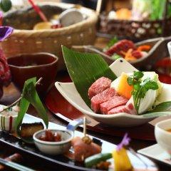 Отель Yunoyado Irifune Минамиогуни питание фото 3