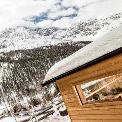 Отель Paradies pure mountain resort Стельвио спортивное сооружение