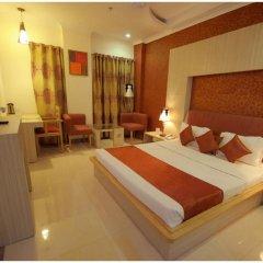 Отель Malik Continental Индия, Нью-Дели - отзывы, цены и фото номеров - забронировать отель Malik Continental онлайн комната для гостей фото 5