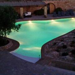 Отель Masseria Alcaini Лечче бассейн