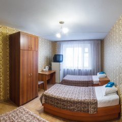 Гостиница Авиатор Номер Эконом разные типы кроватей фото 3