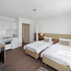 Vi Vadi Hotel downtown munich 3* Стандартный номер 2 отдельными кровати фото 7