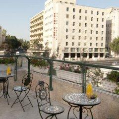 HI Jerusalem - Agron Hostel Израиль, Иерусалим - отзывы, цены и фото номеров - забронировать отель HI Jerusalem - Agron Hostel онлайн балкон