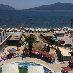 Отель Club Nergis Beach Мармарис пляж