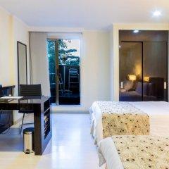 Porton Medellin Hotel 4* Номер категории Эконом с двуспальной кроватью фото 3