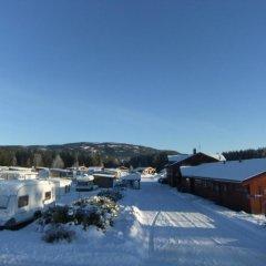 Отель Bø Camping og Hytter парковка