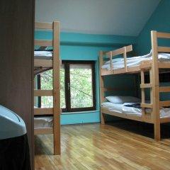 Star Hostel Belgrade Кровать в общем номере с двухъярусной кроватью