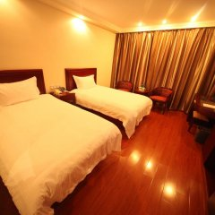 GreenTree Inn Jiangxi Jiujiang Shili Avenue Business Hotel 2* Номер Бизнес с 2 отдельными кроватями фото 2