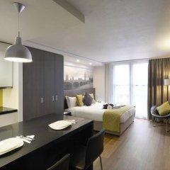 Отель Citadines Trafalgar Square London 3* Студия с различными типами кроватей фото 5