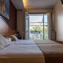 Отель Galeón 3* Стандартный номер с двуспальной кроватью фото 11