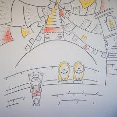 Хостел География Казань Кровать в общем номере двухъярусные кровати фото 37