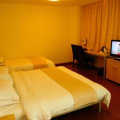 Отель Joyful star Hotel Pu Dong Airport WanXia Китай, Шанхай - 1 отзыв об отеле, цены и фото номеров - забронировать отель Joyful star Hotel Pu Dong Airport WanXia онлайн удобства в номере фото 2