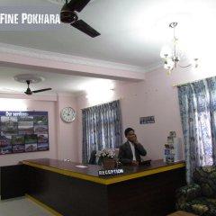 Отель Fine Pokhara Непал, Покхара - отзывы, цены и фото номеров - забронировать отель Fine Pokhara онлайн интерьер отеля