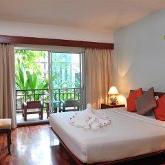 Отель Lomtalay Chalet Resort 3* Улучшенный номер с различными типами кроватей фото 3