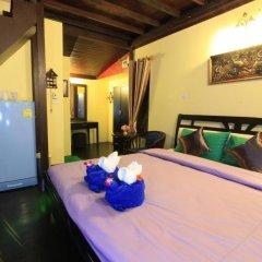 Отель Saladan Beach Resort 3* Бунгало с различными типами кроватей фото 14