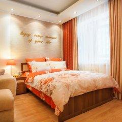 Апартаменты GreenHouse Apartments 1 Екатеринбург комната для гостей фото 5