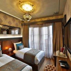 Sanat Hotel Pera Boutique 3* Стандартный семейный номер с различными типами кроватей фото 3