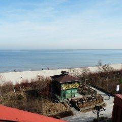 Отель Pensjonat Wanda пляж