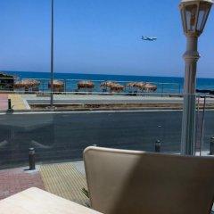 Отель Flamingo Beach Hotel Кипр, Ларнака - 13 отзывов об отеле, цены и фото номеров - забронировать отель Flamingo Beach Hotel онлайн пляж фото 2