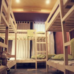 Хостел Полянка на Чистых Прудах Кровать в общем номере с двухъярусной кроватью фото 8