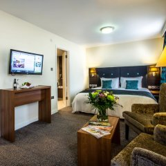 Отель Holiday Inn London - Kensington 4* Представительский номер с различными типами кроватей фото 6