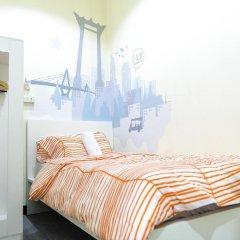 I-Sleep Silom Hostel Номер Делюкс с различными типами кроватей фото 6