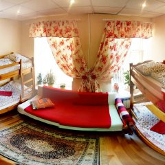 Хостел Арина Родионовна Кровать в женском общем номере с двухъярусной кроватью фото 4