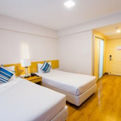 Samran Place Hotel 3* Стандартный номер с 2 отдельными кроватями фото 4