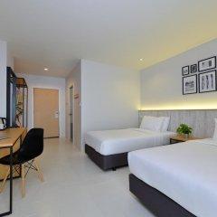 Отель Ruenthip Residence Pattaya 4* Улучшенный номер с различными типами кроватей