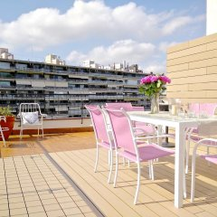 Отель Ferran Pedralbes Penthouse Испания, Барселона - отзывы, цены и фото номеров - забронировать отель Ferran Pedralbes Penthouse онлайн балкон