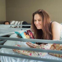 Jacques Brel Youth Hostel Кровать в общем номере