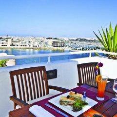 Отель Golden Tulip Farah Rabat Марокко, Рабат - отзывы, цены и фото номеров - забронировать отель Golden Tulip Farah Rabat онлайн балкон