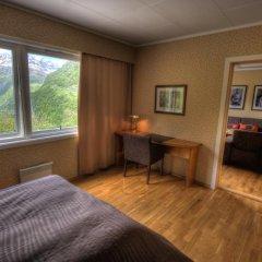 Отель Hotell Utsikten Geiranger - by Classic Norway 2* Стандартный номер с двуспальной кроватью фото 8