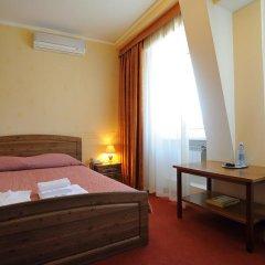 Отель Лермонтов Омск комната для гостей фото 4
